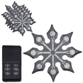 Chinese Style Throwing Star Set