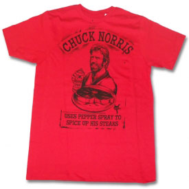 Chuck Norris Pepper Spray T-Shirt