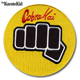Cobra Kai Fist Patch
