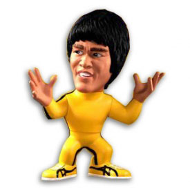 Collectible Bruce Lee Game of Death Figurine