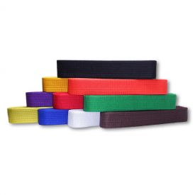 Colored Rank Belts