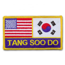 Compact Korean American Tang Soo Do Patch
