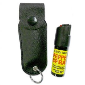 Compact Pepper Spray Keychain