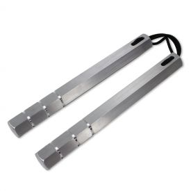 Corded Hexagonal Grip Nunchaku
