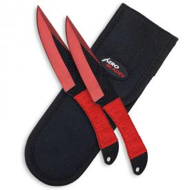 Crimson Carver Throwing Knives