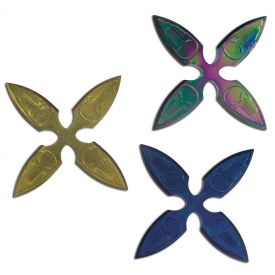Dark Skull Multicolor Shuriken Set