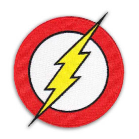 DC Comics Flash Patch