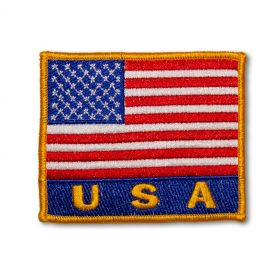 Deluxe American Flag Patch