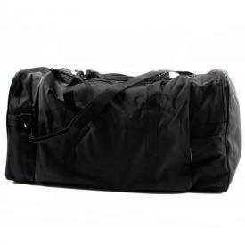 Deluxe Black Duffle Bag