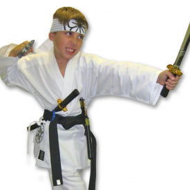 Deluxe Kids Karate Costume
