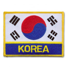 Deluxe Korean Flag Patch