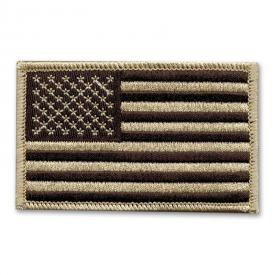 Desert Camo American Flag Patch