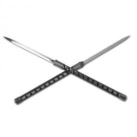 Double Blade Ninja Staff Sword
