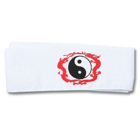 Dragon Yin Yang Headband