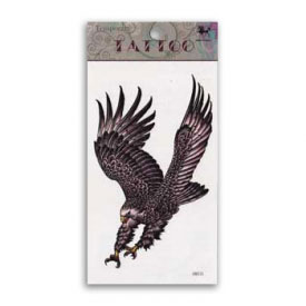 Eagle Strike Animal Spirit Temporary Tattoo