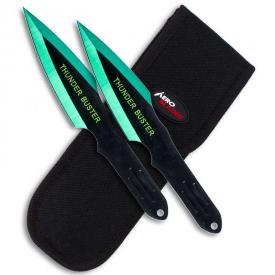 Emerald Assassin Throwing Knives