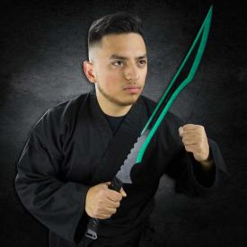 Emerald Edge Ninja Sword