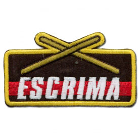 Escrima Weapons Achievement Patch