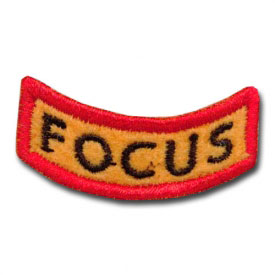 Excellent Focus Award Patch