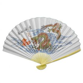 Extra Large Dragon Wall Fan