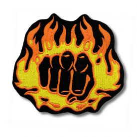 Furious Flaming Fist Patch