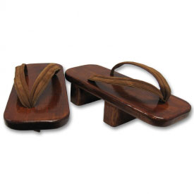 Wooden Block Geta Shoes