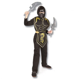 Gold Dragon Ninja Costume