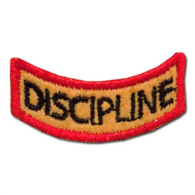 Great Discipline Award Patch