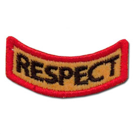 Great Respect Award Patch (1 Left In Stock)
