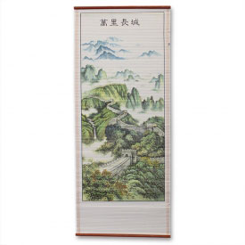 Great Wall of China Scroll Painting