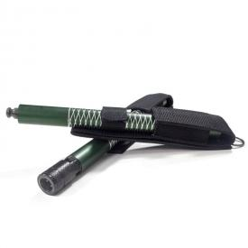 Green 2-Piece Collapsible Bo Staff