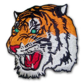 Bengal Tiger Patch