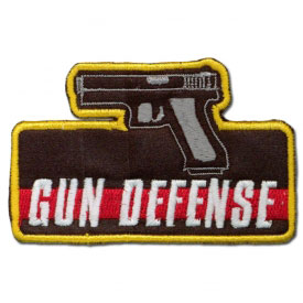 Gun Defense Achievement Patch