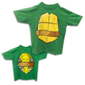 Half Shell Hero TMNT Shirt