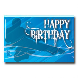 Happy Birthday Martial Arts Postcard