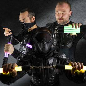 High-Impact LED Nunchucks