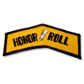 Honor Roll Martial Arts Patch