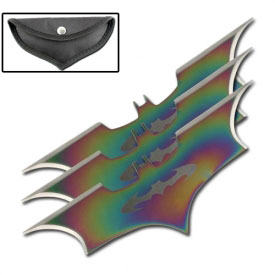Iridescent Bat Throwers