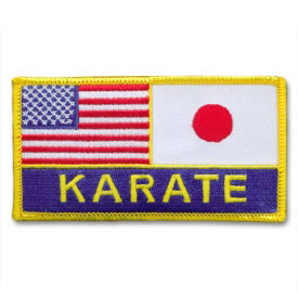 Japanese American Karate Patch