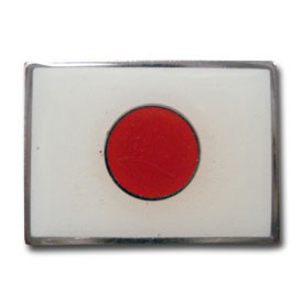 Japanese Flag Lapel Pin