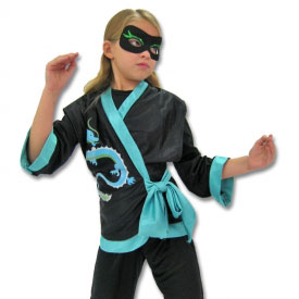 Jewel Dragon Ninja Costume