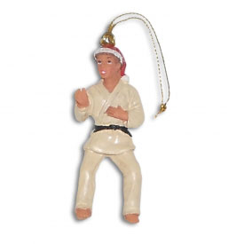 Judo Christmas Ornament