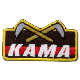 Kama Weapons Achievement Patch