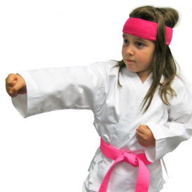 Karate Girl Costume
