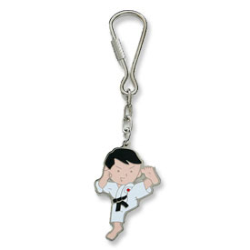 Karate Kid Keychain
