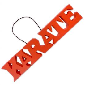 Karate Word Hanger
