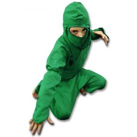 Kids Green Ninja Uniform
