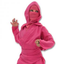 Kids Pink Ninja Uniform