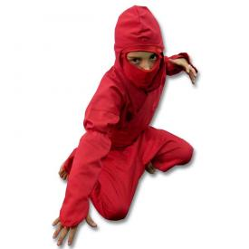 Kids Red Ninja Uniform