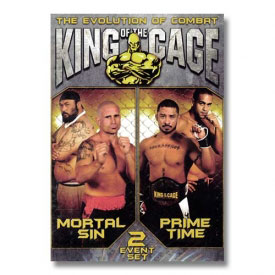 King of the Cage: Evolution of Combat (DVD)